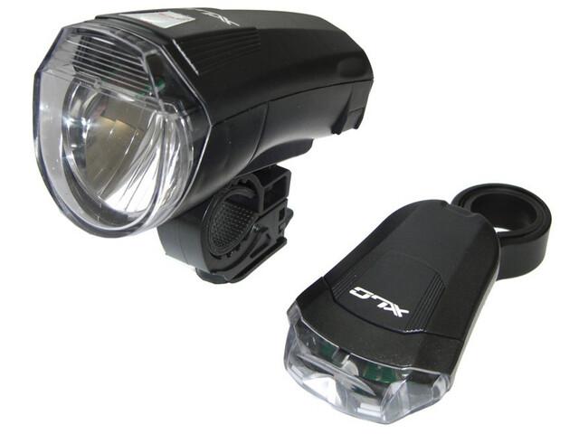 XLC CL-S14 - Kit éclairage vélo - StVZO noir